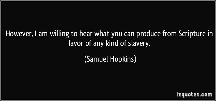 Samuel Hopkins's quote #1