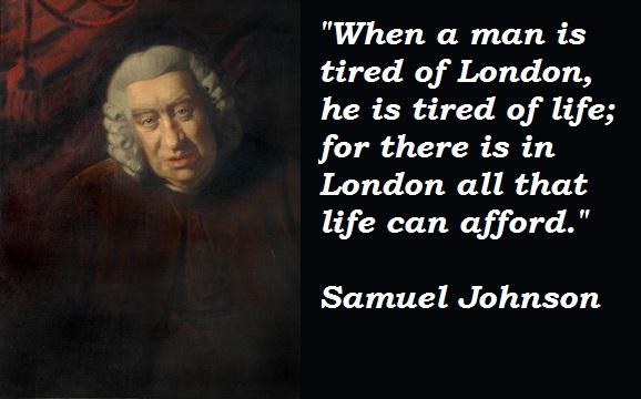 Samuel Johnson's quote #7