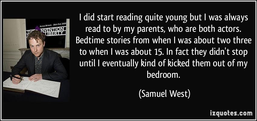 Samuel West's quote #5