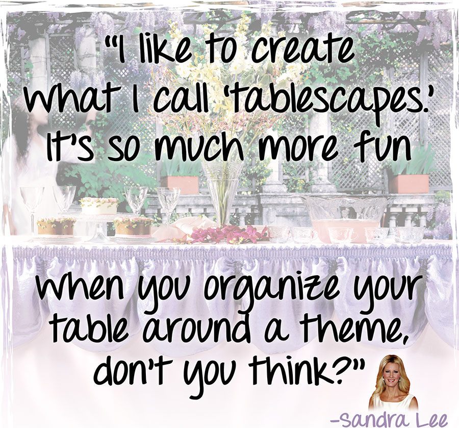 Sandra Lee's quote #3