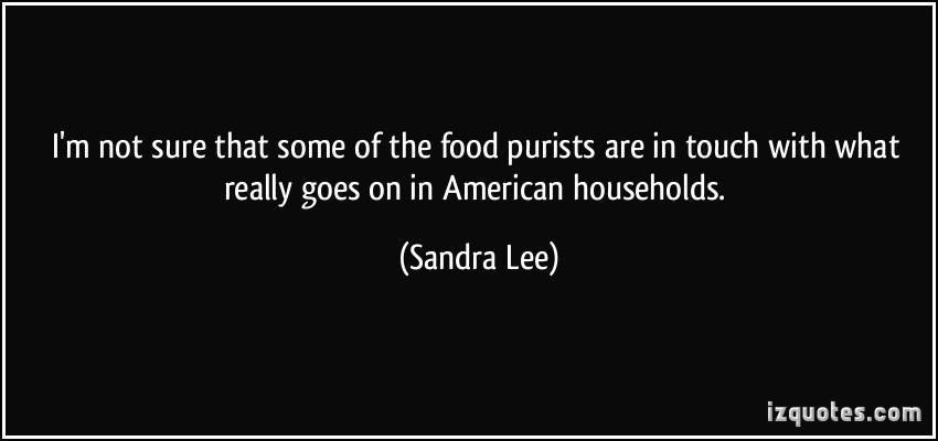 Sandra Lee's quote #6