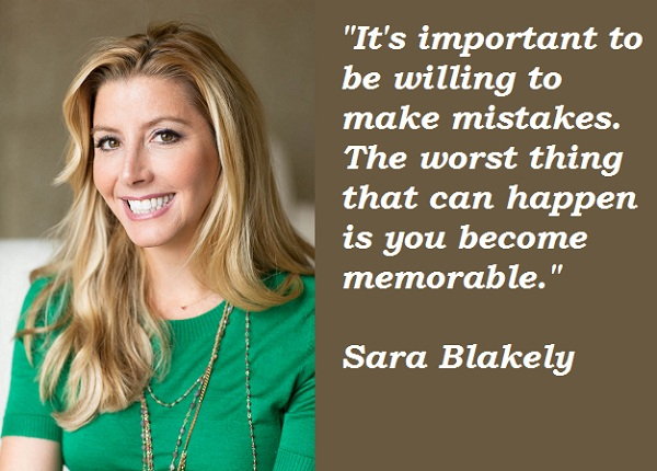 Sara Blakely's quote #1