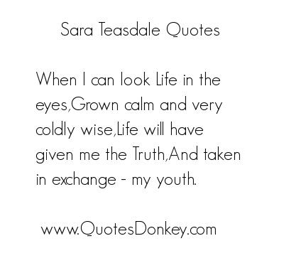 Sara Teasdale's quote #6