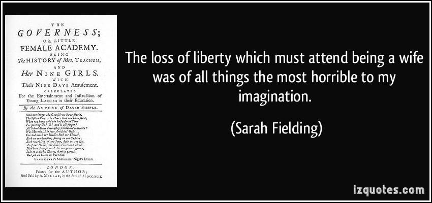 Sarah Fielding's quote #3