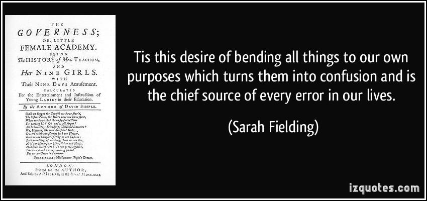 Sarah Fielding's quote #2