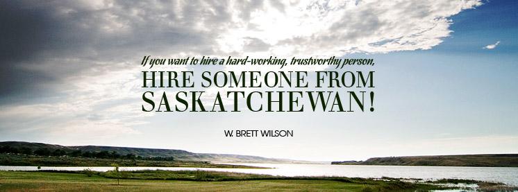 Saskatchewan quote #1