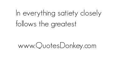 Satiety quote #1