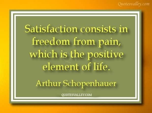 Satisfaction quote