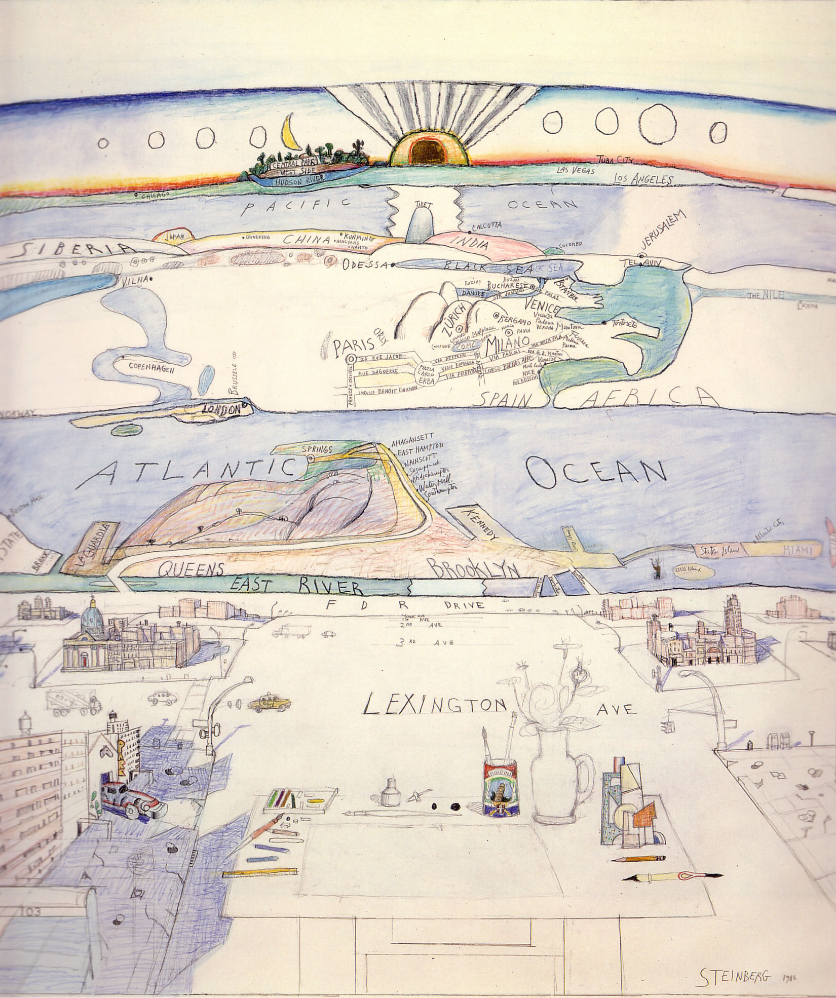 Saul Steinberg's quote #2