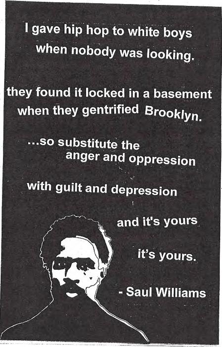 Saul Williams's quote #7
