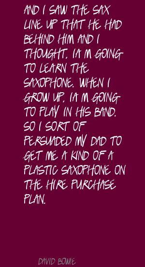 Saxophone quote #4