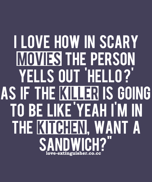 Scary Movies quote