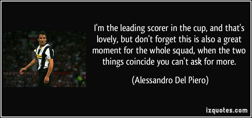 Scorer quote #1