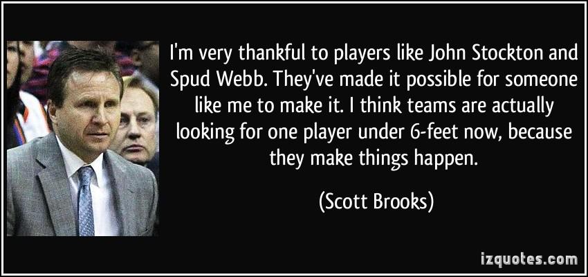 Scott Brooks's quote #4