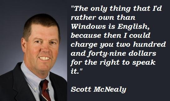 Scott McNealy's quote #1