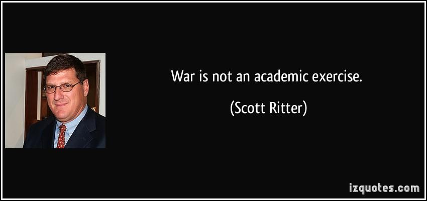 Scott Ritter's quote #1