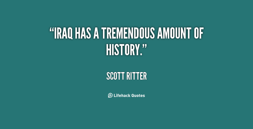 Scott Ritter's quote #5