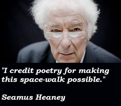 main features of seamus heaney poetry