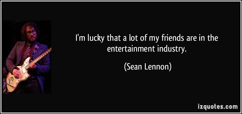 Sean Lennon's quote #7