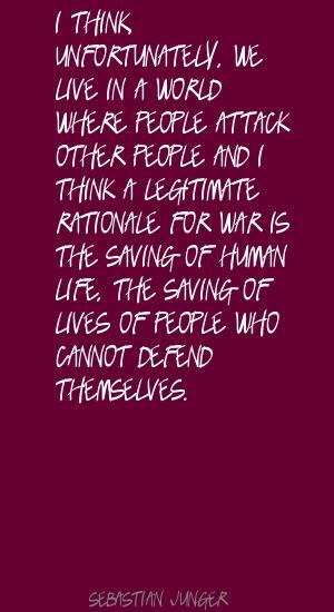 Sebastian Junger's quote #5