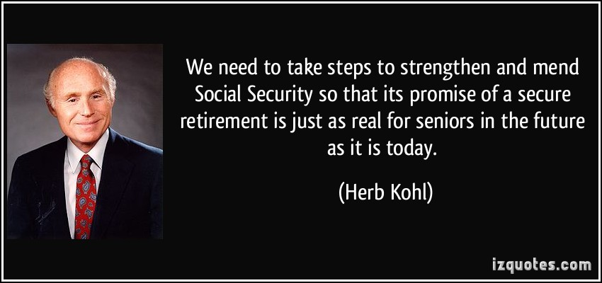 Secure Retirement quote #1