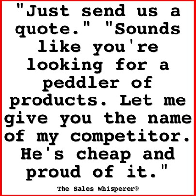 Selling quote #2