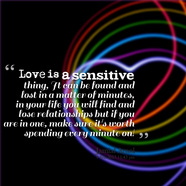 Sensitive quote #1