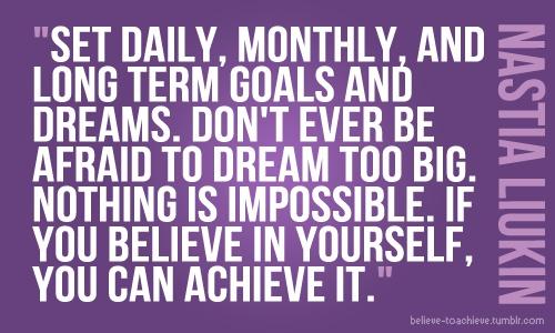 Setting Goals quote #1