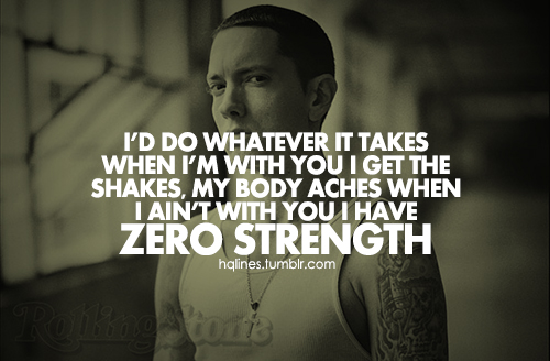 Shady quote #1