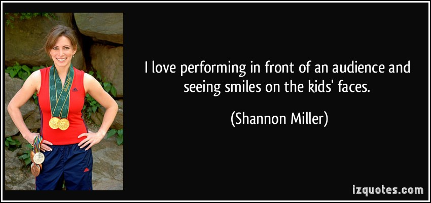 Shannon Miller's quote #6