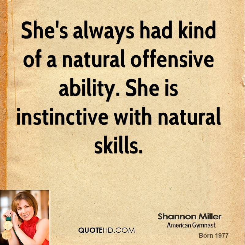 Shannon Miller's quote #2