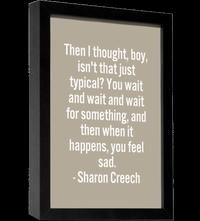 Sharon Creech's quote #1