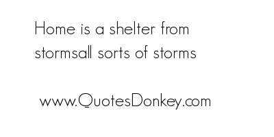 Shelter quote #1