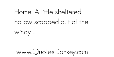 Sheltered quote #1