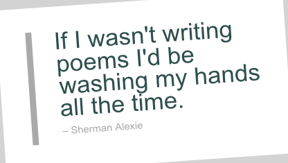Sherman Alexie's quote #2