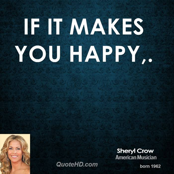 Sheryl Crow's quote #5