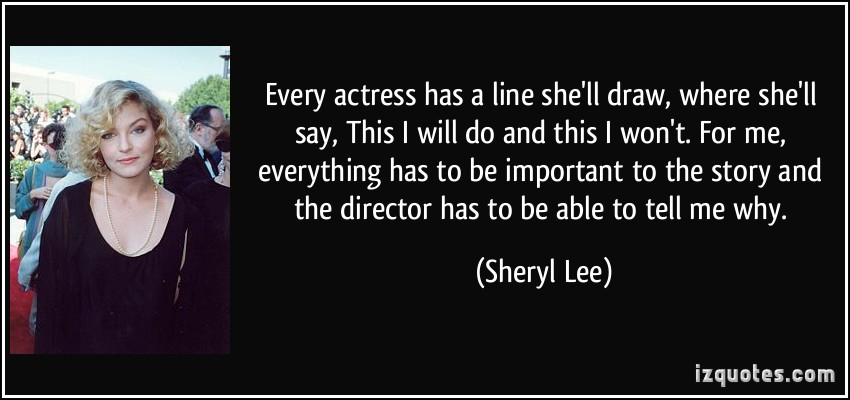 Sheryl Lee's quote #2