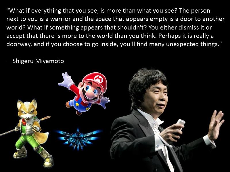 Shigeru Miyamoto's quote #2