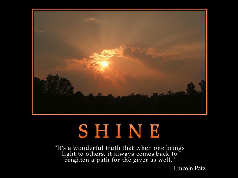 Shine quote #2