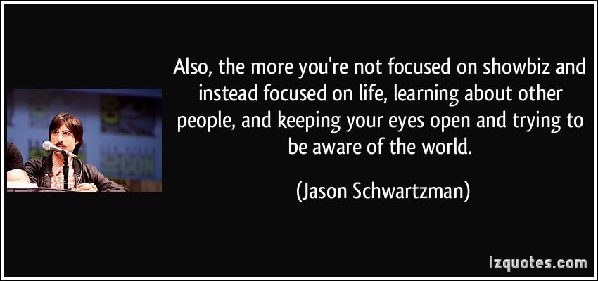 Showbiz quote #3