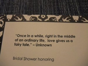 Shower quote #7