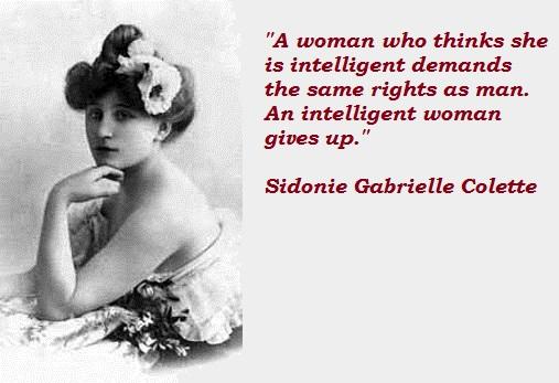 Sidonie Gabrielle Colette's quote #4
