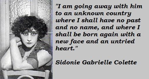 Sidonie Gabrielle Colette's quote #7