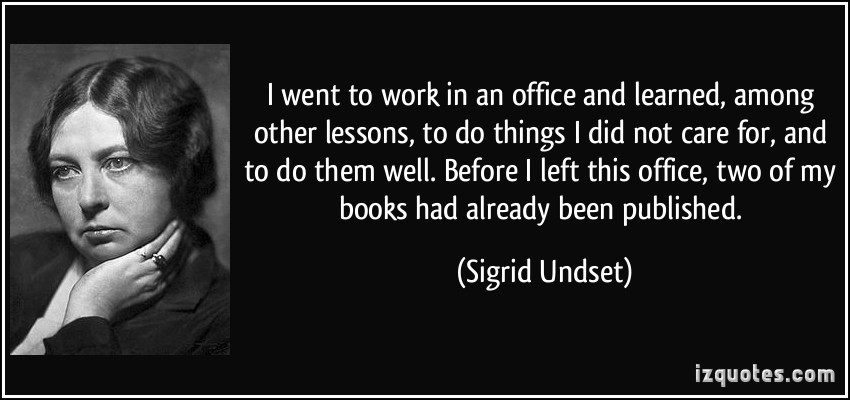 Sigrid Undset's quote #1