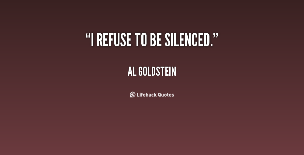 Silenced quote #1