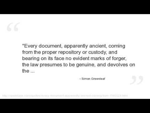 Simon Greenleaf's quote #7