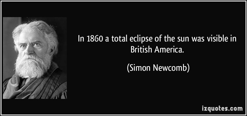 Simon Newcomb's quote #6