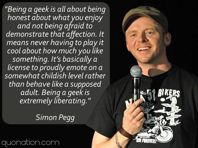 Simon Pegg's quote #2