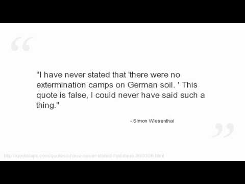 Simon Wiesenthal's quote #6