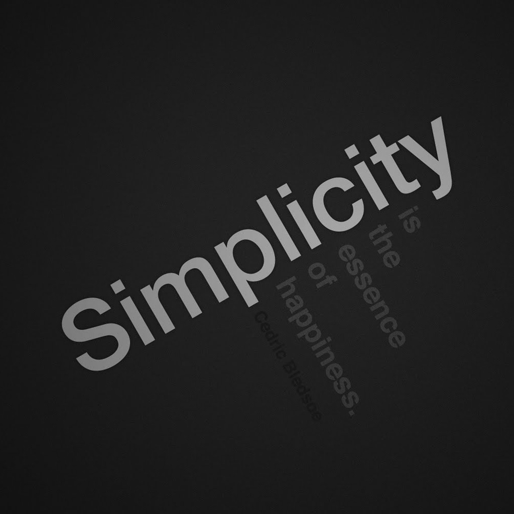 Simplicity quote #7